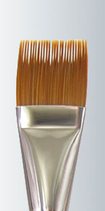 Golden Taklon Flat Comb - 165PC