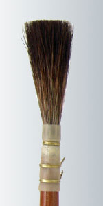 Series 2100 - Brown Squirrel Lettering Quill