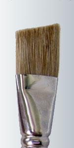 Series 823 - White Bristle Angular Fitch