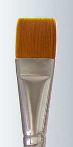 Series 142 - Golden Taklon Champagne Handle Flat
