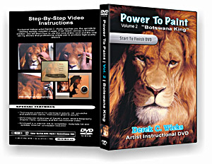 "Derek C Wicks Essential Brush Pack for use with ""Power to Paint"" DVD -  Set #5901"