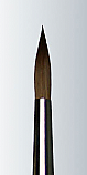 Derek Wicks Brush - Series 3000 Size #6 Supreme Red Sbale Fine Line